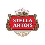 Exempel på Stella Artois logotype, emblem