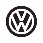 Exempel på Volkswagen logotype, symbol